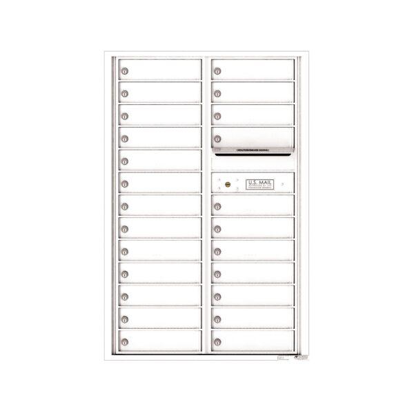 4C13D-24 24 Tenant Door 13 High 4C Front Loading Mailbox