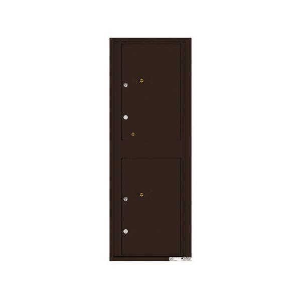4C13S-2P 2 Parcel 13 High 4C Front Loading Outdoor Parcel Locker