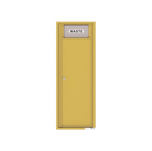 4C13S-BIN Trash / Recycling Bin 13 High Single Column 4C Front Loading