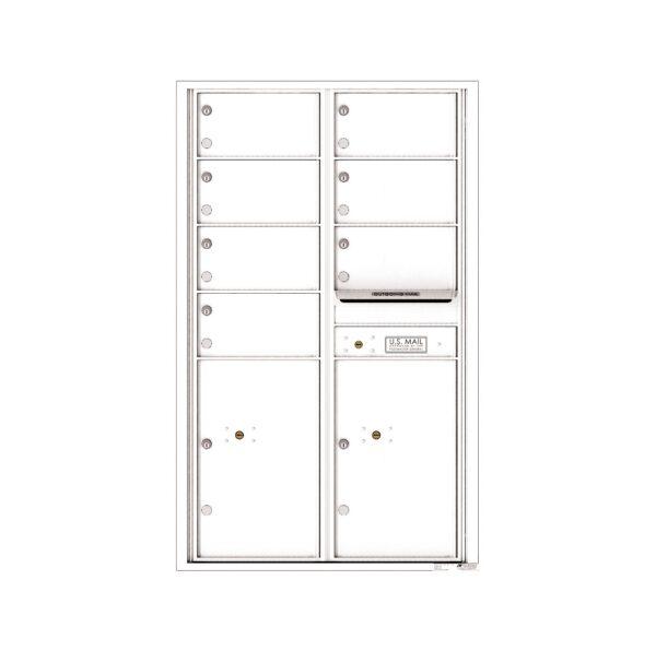 4C14D-07 7 Tenant Door 14 High 4C Front Loading Mailbox