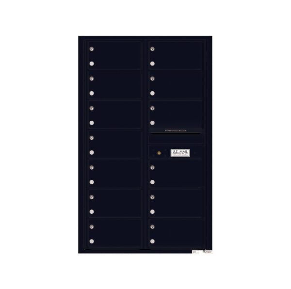 4C14D-13 13 Tenant Door 14 High 4C Front Loading Mailbox