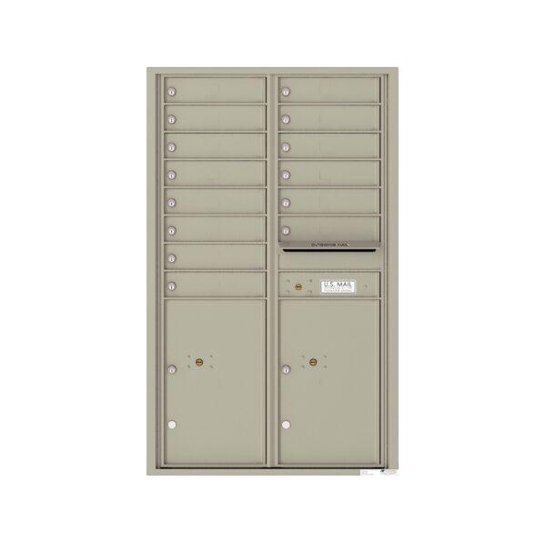 4C14D-14 14 Tenant Door 14 High 4C Front Loading Mailbox