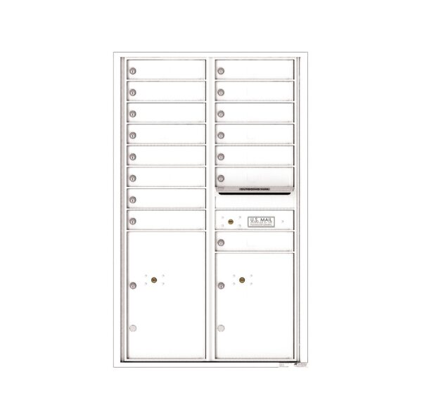 4C14D-15 15 Tenant Door 14 High 4C Front Loading Mailbox