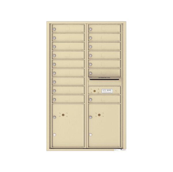 4C14D-16 16 Tenant Door 14 High 4C Front Loading Mailbox