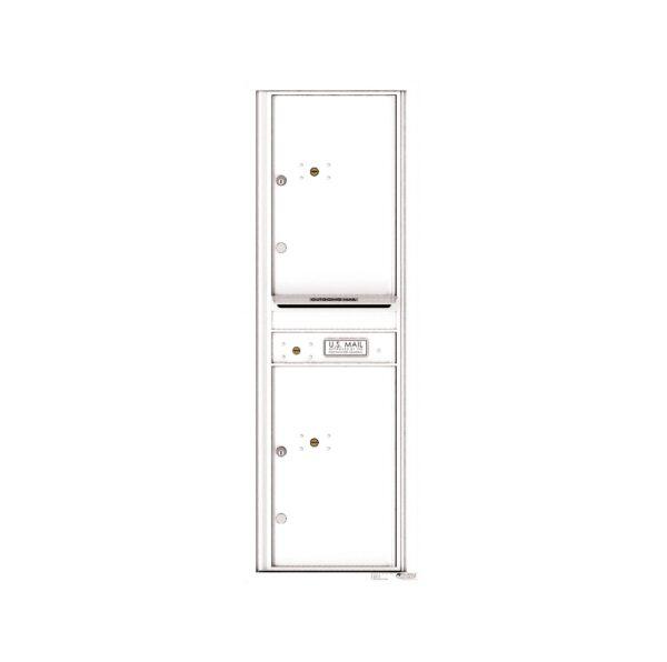 4C14S-2P 2 Parcel 14 High 4C Front Loading Outdoor Parcel Locker