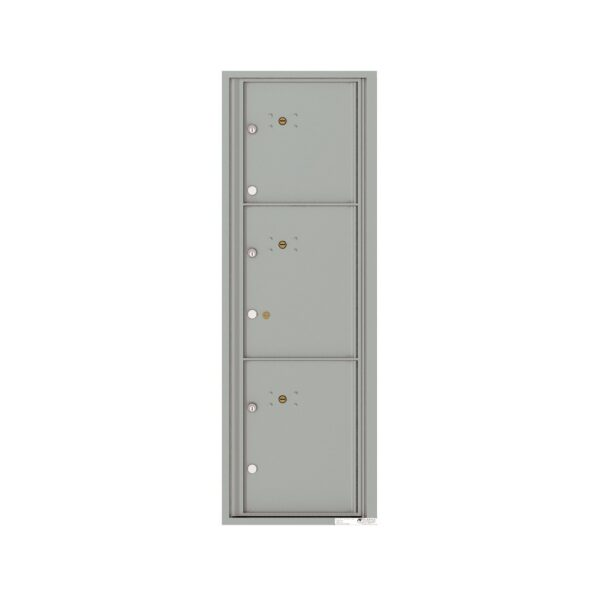 4C14S-3P 3 Parcel 14 High 4C Front Loading Outdoor Parcel Locker