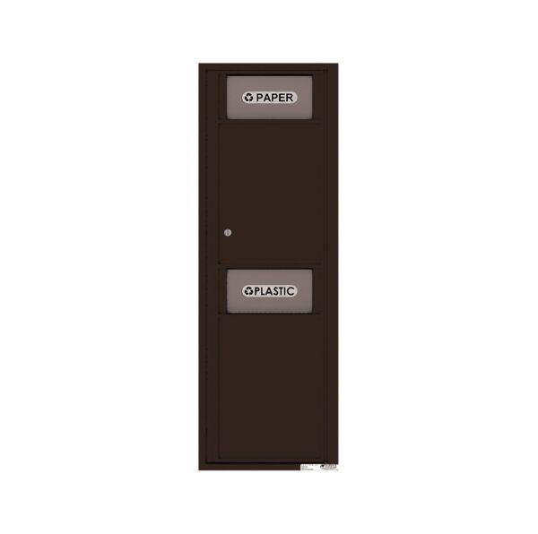 4C14S-BIN Trash / Recycling Bin 14 High Single Column 4C Front Loading