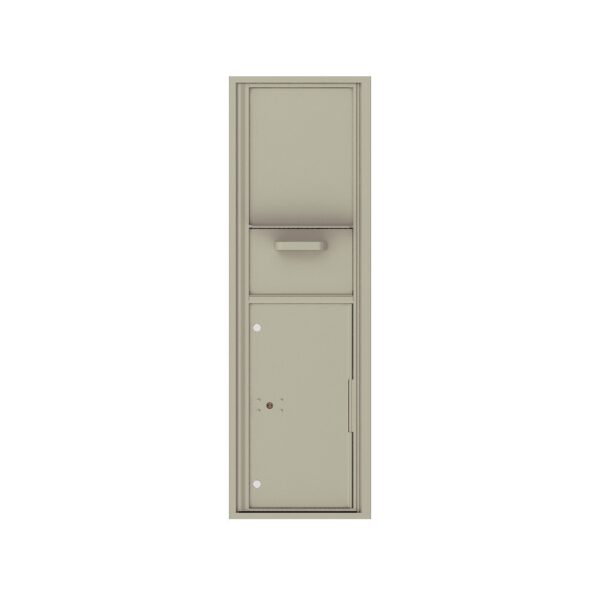 4C15S-HOP Mail Collection / Drop Box 15 High Single Column 4C Front Loading Collection Box