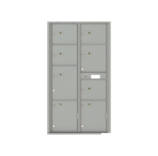 4C16D-8P 8 Parcel Max-Height 4C Front Loading Outdoor Parcel Locker