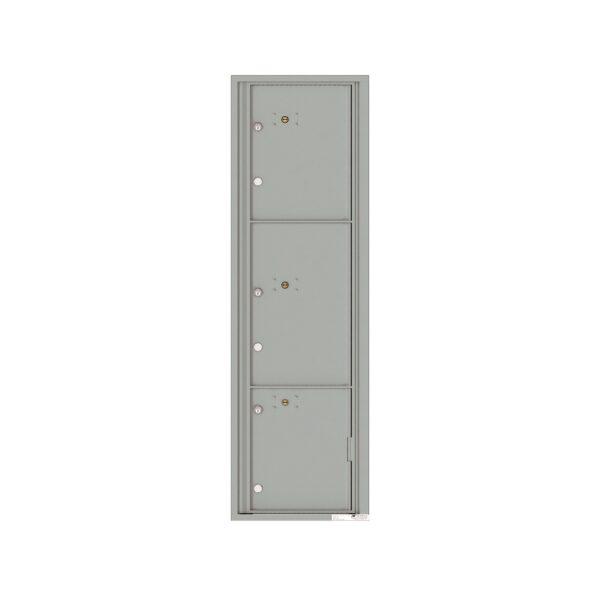4C16S-3P 3 Parcel Max-Height 4C Front Loading Outdoor Parcel Locker