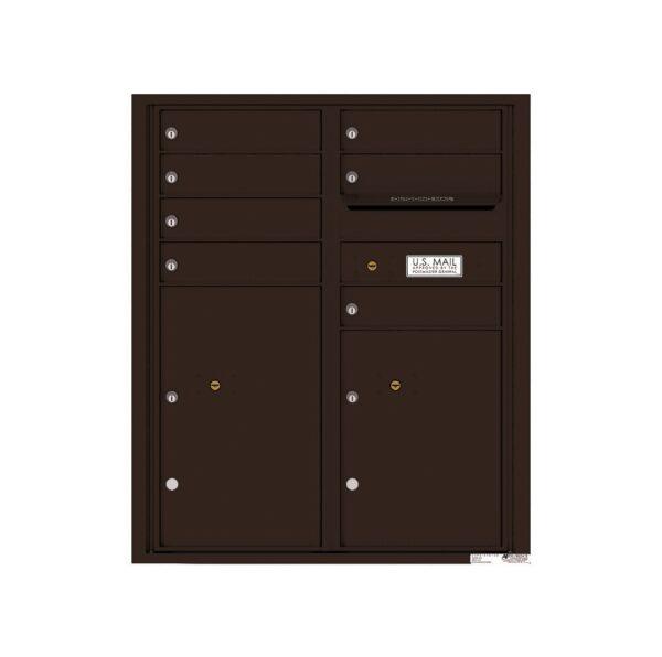 4CADD-07 7 Tenant Door Max Height ADA 4C Front Loading Mailbox