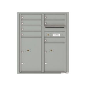 4CADD-07 7 Tenant Door Max Height ADA 4C Front Loading Mailbox