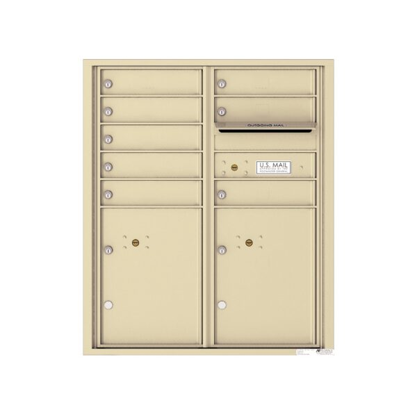 4CADD-08 8 Tenant Door Max Height ADA 4C Front Loading Mailbox