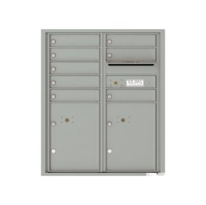 4CADD-08 8 Tenant Door Max Height ADA 4C Front Loading Mailbox