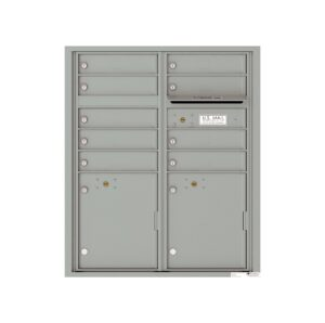 4CADD-09 9 Tenant Door Max Height ADA 4C Front Loading Mailbox