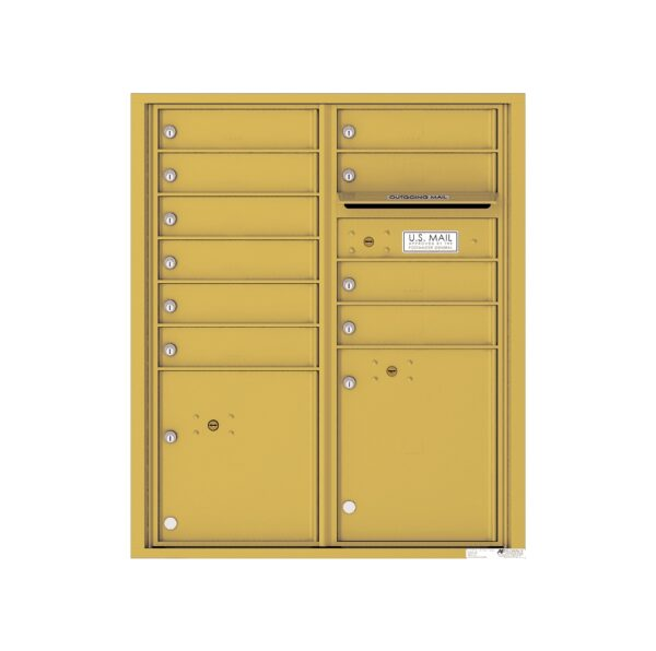 4CADD-10 10 Tenant Door Max Height ADA 4C Front Loading Mailbox