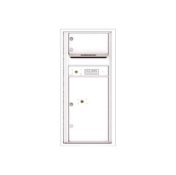 4CADS-01 1 Tenant Door Max Height ADA Single Column 4C Front Loading Mailbox