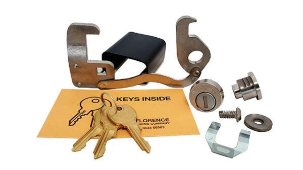 Postal Compartment Lock Kit 2-High Door