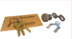 Postal supply lock kit and spare keys